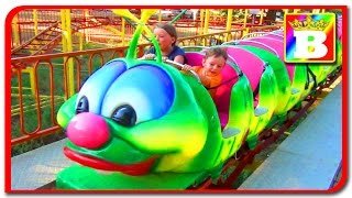 The Most Terrifying Rides In The World with Disney Princess Sofy and Bogdan's Show