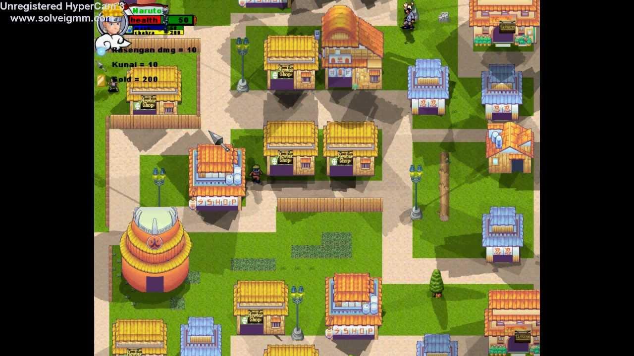naruto rpg games | Games World