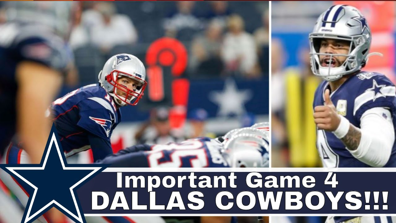Why This Dallas Cowboys Vs New England Patriots Game Important