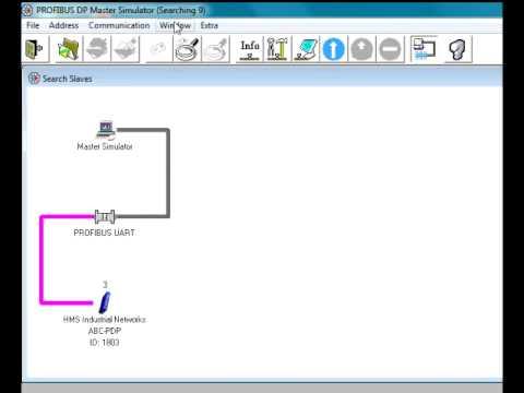 Работа с Profibus DP Master Simulator