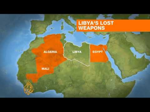 Libya's heavy arms being funnelled across border