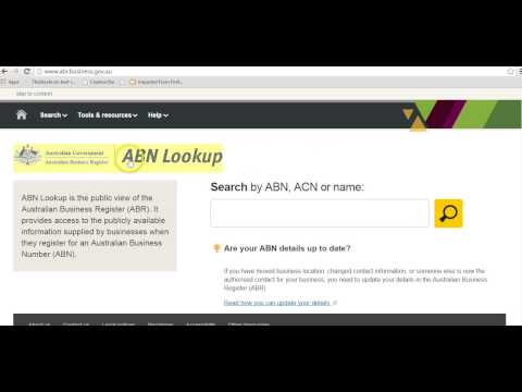 Checking an ABN on the Australian Business Register - Healthy Business Finances