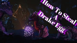 Ark Aberration: How To Steal A Rock Drake Egg (Easiest Way)