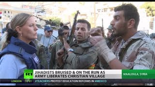Frontline: Dramatic report as Syria Army battles jihadists in ancient Christian village