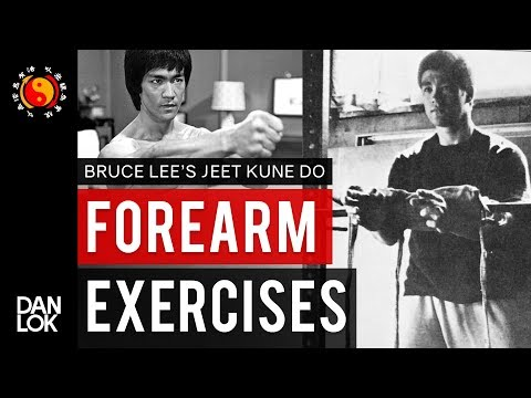 Bruce Lee's Forearm Exercises