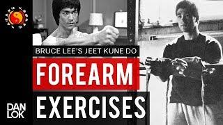 Bruce Lee's Forearm Exercises