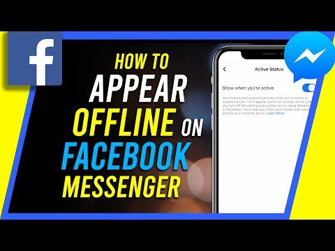 How To Appear Offline On Facebook Messenger 2019