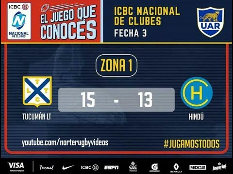 Tucumán Lawn Tennis 15 - Hindú 13 #NacionalDeClubes