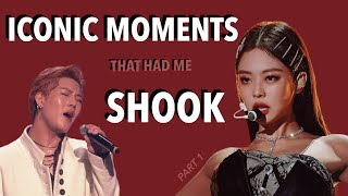 KPOP MOMENTS THAT HAD ME SHOOK *iconic moments*