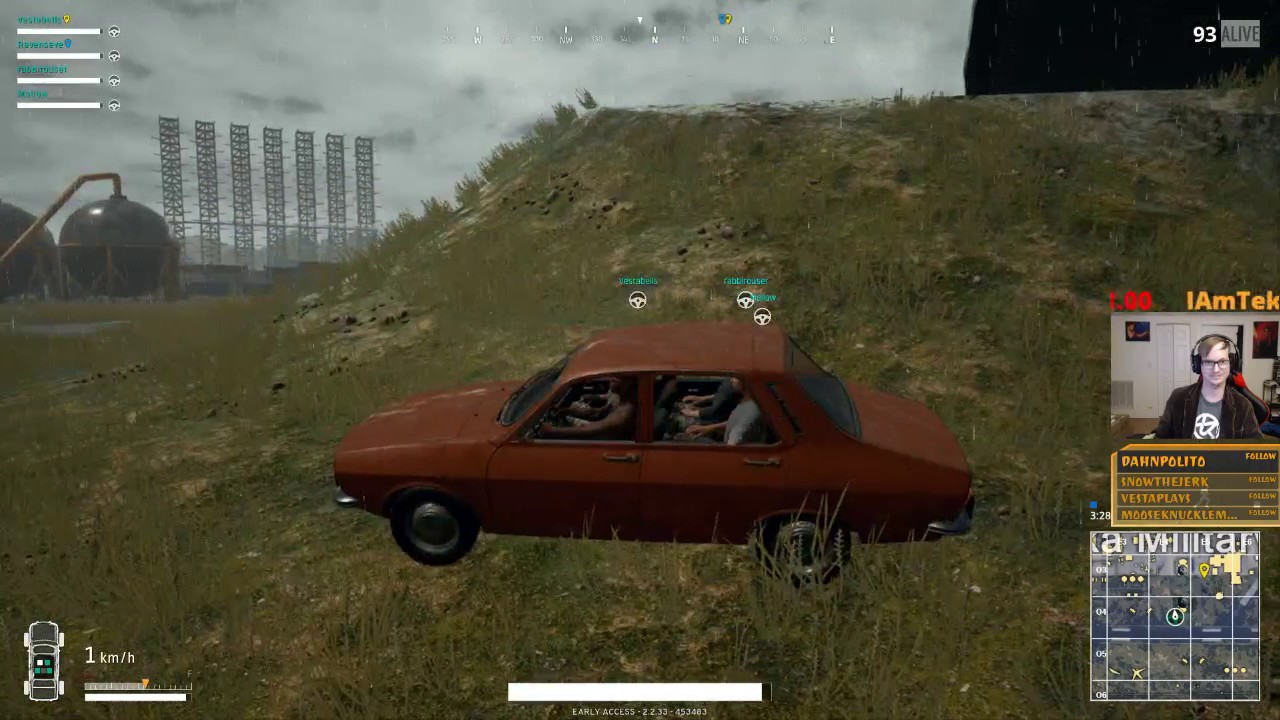 how to drive a car in pubg