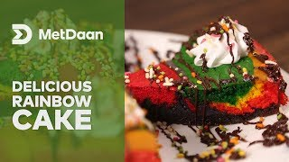 Delicious Rainbow Cake | MET DAAN