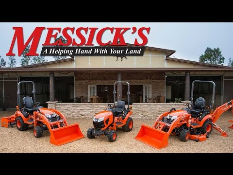 New Kubota 2017 model introductions by Messicks Mp3