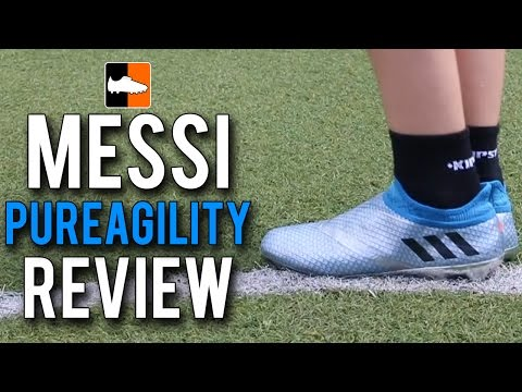 MESSI16+ Pureagility Review | adidas Leo Messi Football Boots