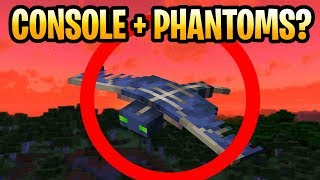 Minecraft Phantoms & Console Edition? After Update Aquatic For PS3, PS Vita, PS4, Xbox 360 & Wii U