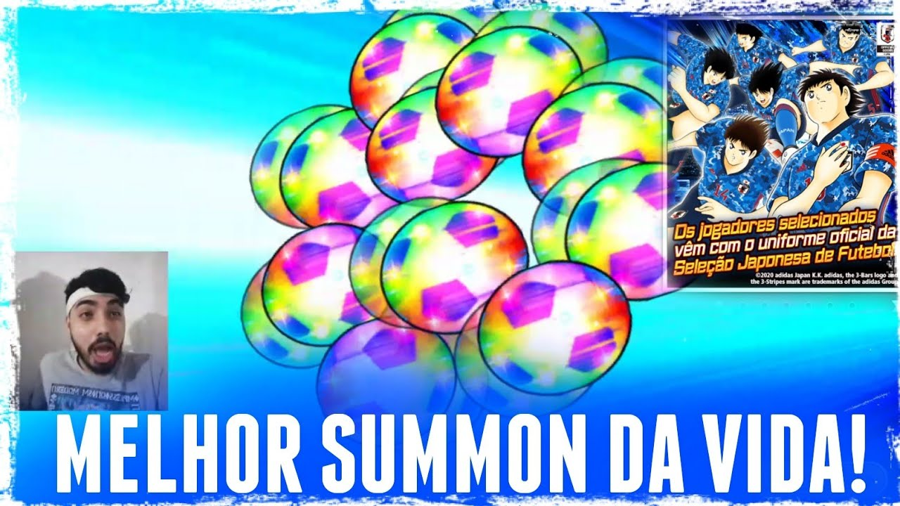 Download (GACHA) SAMURAI BLUE 2020 CAPTAIN TSUBASA DREAM TEAM EM PORTUGUÊS (SUMMON)