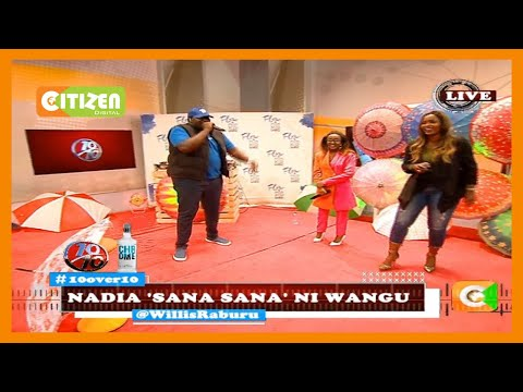 10 over 10 | Nadia Mukami and Sanaipei Tande perfoming their new song 'Wangu' on the 10