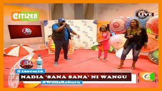 10 over 10   Nadia Mukami and Sanaipei Tande perfoming their new song 'Wangu' on the 10