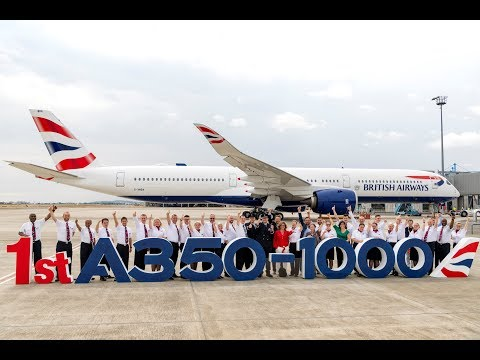 British Airways - Celebrating our A350