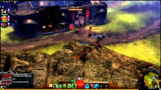 Guild Wars 2 - Trebuchet Assault On Anzalias Pass