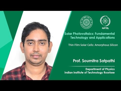 Thin Film Solar Cells: Amorphous Silicon