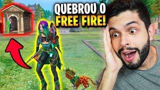 PULEI NO CEMITÉRIO COM A NOVA HACKER (MOCO) E QUEBREI O FREE FIRE!!!