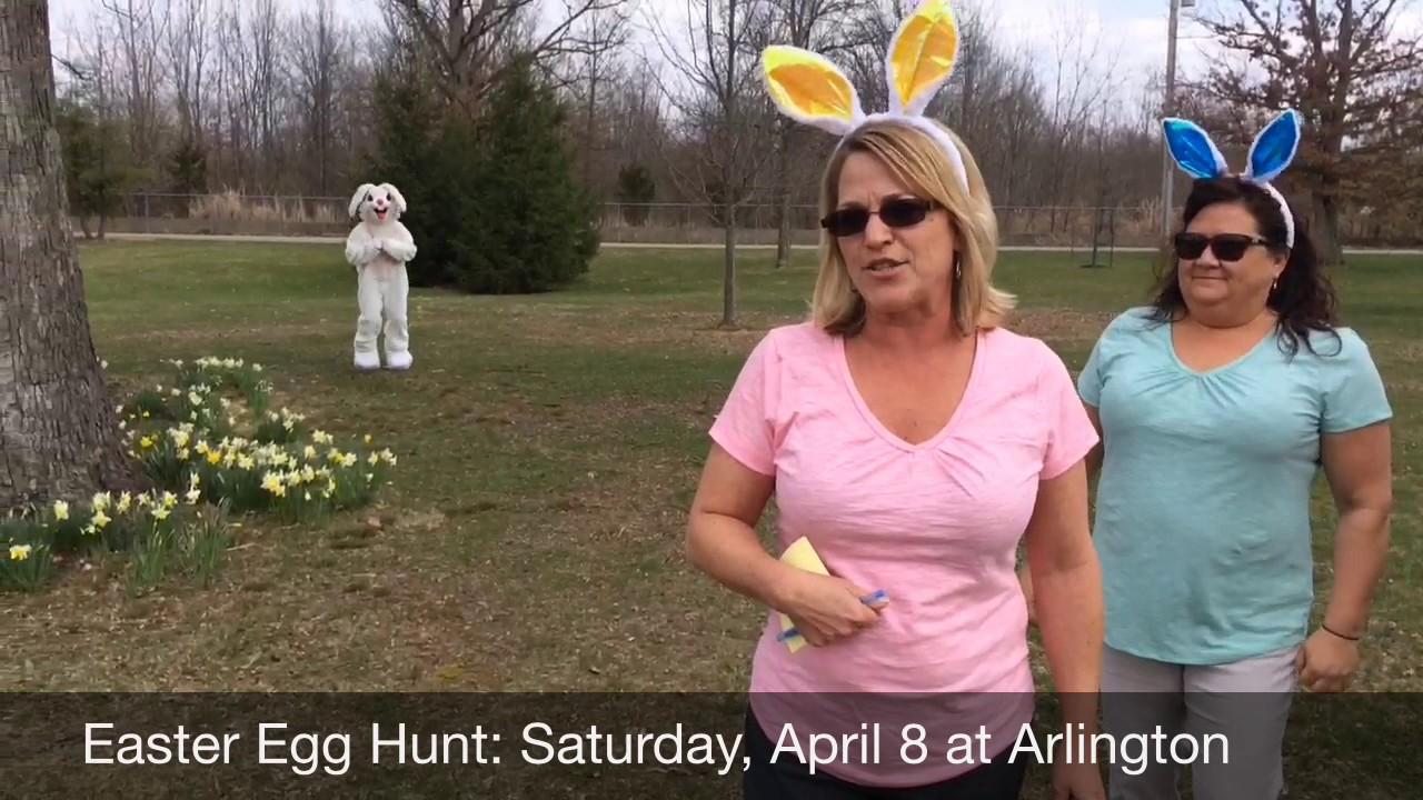 Easter Egg Hunt at The Arlington Memorial Gardens - YouTube
