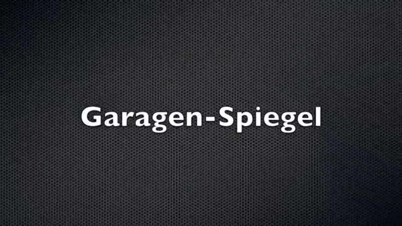 Einparkhilfe Garage Selber Bauen : garagenspiegel aus edelstahl top spiegelbild sicherheit ~ Watch28wear.com Haus und Dekorationen