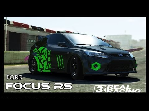 Real Racing 3 Ford Focus Rs Custom Paint Youtube