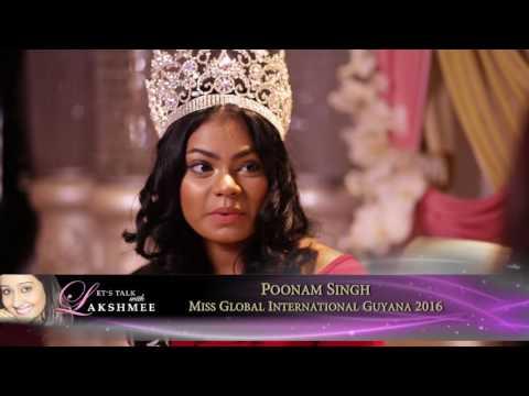 POONAM SINGH - Miss Global International Guyana