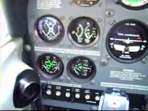 Cockpit of the Cessna 172 Skyhawk