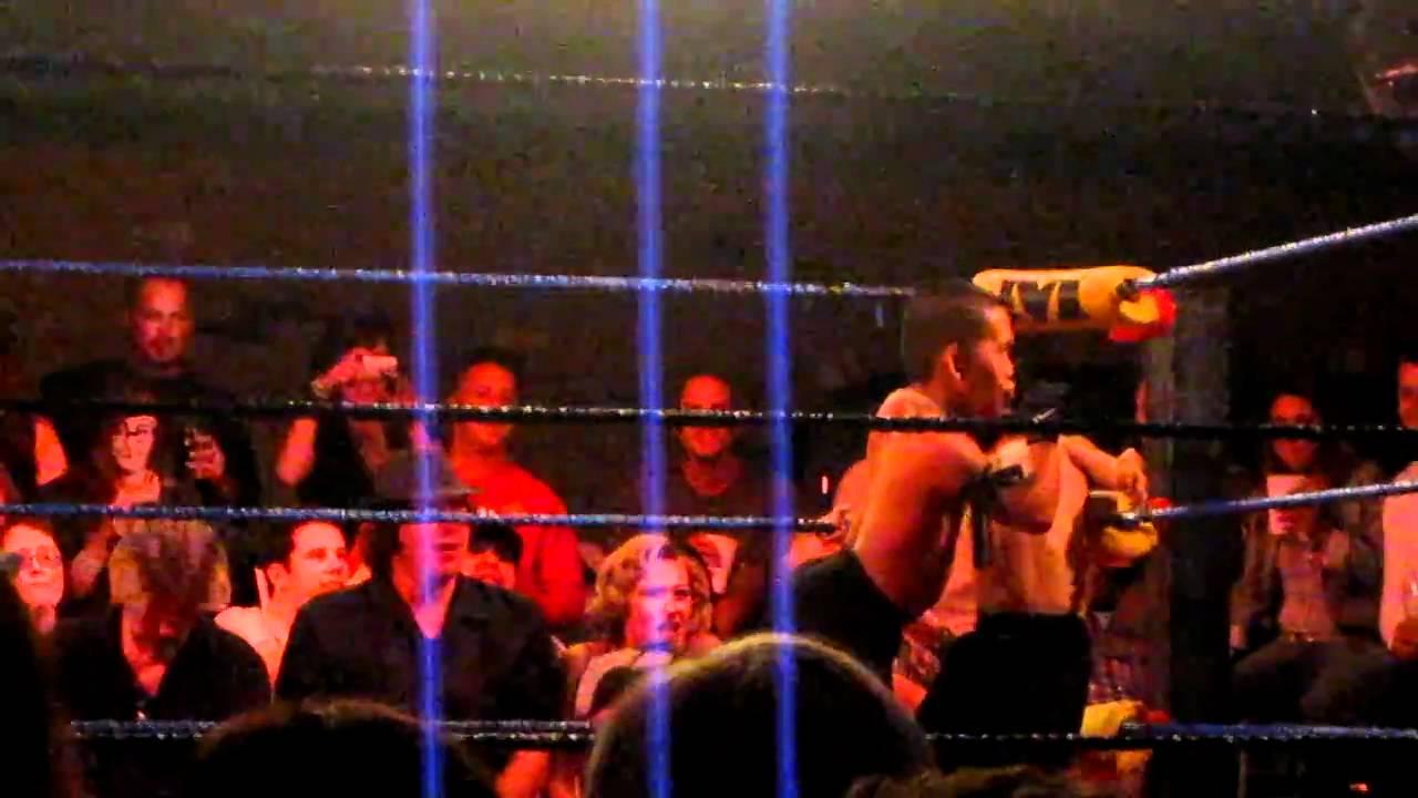Micro Wrestling Federation At The Cellar Door In Visalia CA