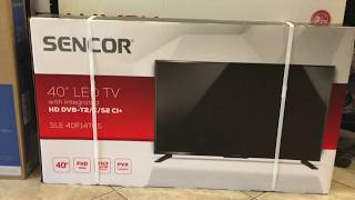 SENCOR LED TV  SLE 40F14TCS