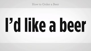 How to Order a Beer | Mandarin Chinese