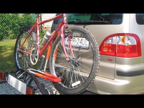 Как перевезти велосипед и не повредить автомобиль?