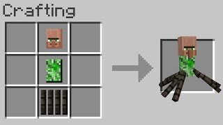 Minecraft but you can craft cursed mobs...