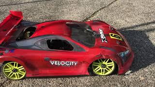 GT8 XRay GTX8 - Moteur OS SPEED - VELOCITY GT Racing -