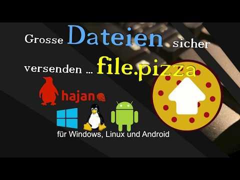 Große Dateien Mit Filepizza Verschicken