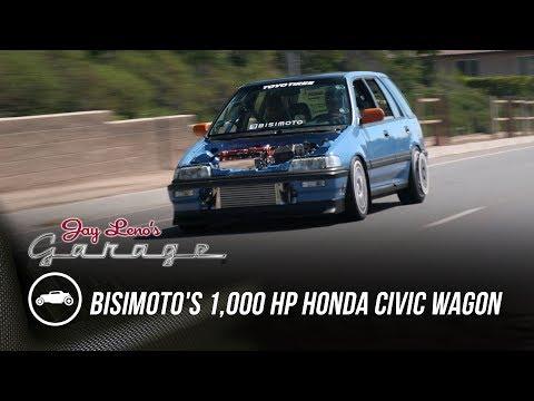 Bisimoto's 1,000 HP Honda Civic Wagon - Jay Lenos Garage