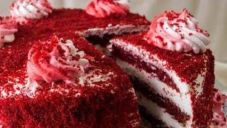 Торт Красный бархат  Проверенный рецепт