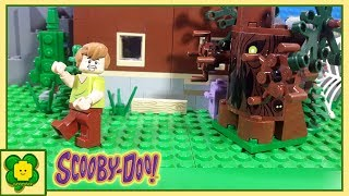 Lego Scooby Doo Brick Building Monster Tree Stop Motion Animation
