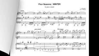 A. Piazzolla - Four Seasons - 4. WINTER - for piano 4 hands