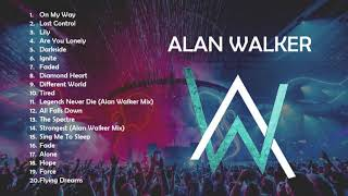 20 Best Song of Alan Walker 2019 - On my way, Darkside, Ignite, Lost Control - Gaming Music - Pubg