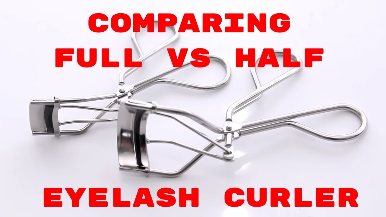 Mac Full And Half Eyelash Curler Youtube