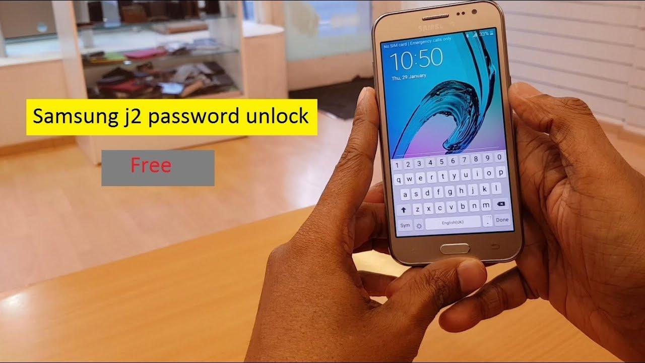 How to unlock forget password samsung j2 || Samsung j2 password unlock free