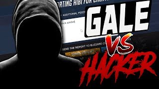 GALE AS ANA VS AIMBOT HACKER?! [ OVERWATCH SEASON 10 TOP 500 ]