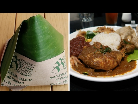 Nasi Lemak RM1.50 vs. RM38. Which one is the best?