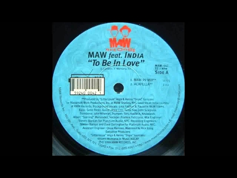 Masters At Work feat. India - To Be In Love (Masters At Work '99 RMX)