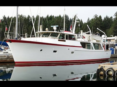 60' Vic Franck Pilothouse Motoryacht - Offered by Ishkeesh Marine Services, Located in Seattle, WA.