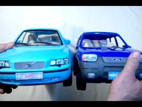 BARBIE CARS - 2003 Volvo V70 T8 Station Wagon + 2002 Ford Escape SOLD on eBay - YouTube