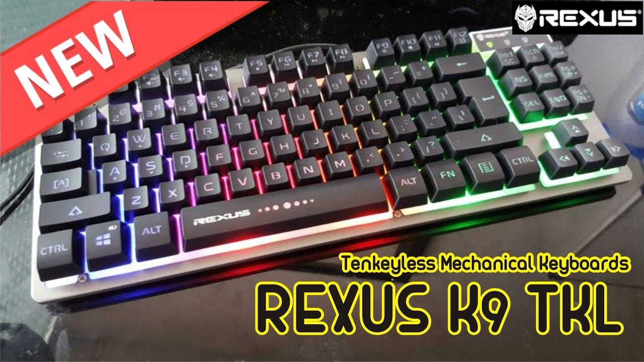 New Rexus K9 Tkl K1 Backlight Keyboard